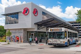 The Blake Transit Center in Ann Arbor.
