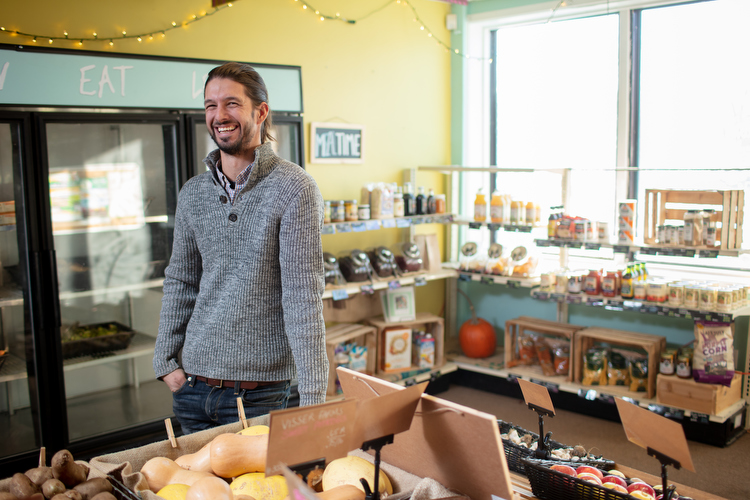 Levi Gardner is executive director of Urban Roots in Grand Rapids.