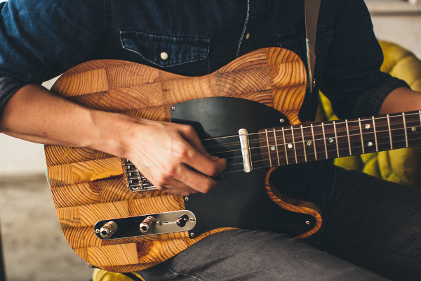 Wallace Detroit Guitars turns reclaimed wood into guitars. Tuesday, August  12, 2014 - Wallace Detroit Guitars Turns Reclaimed Wood Into Guitars