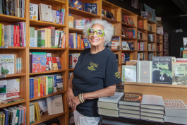 Janet Jones, owner of Source Booksellers