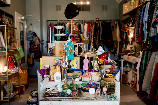 Interior of Mama Coo's Boutique