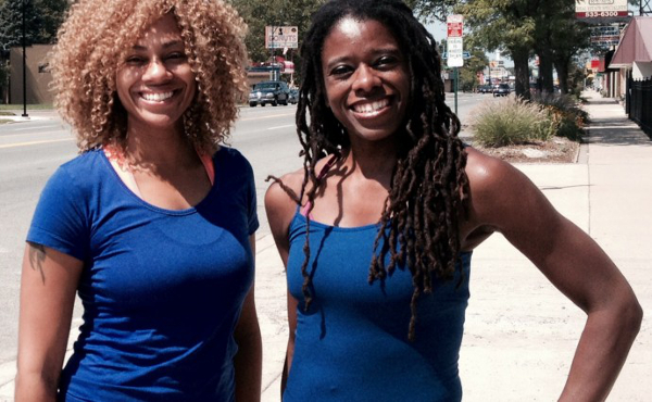 Regina Ward and Nicole Martin of Anahata Yoga