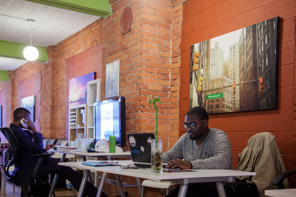 Co-working at Bamboo Detroit