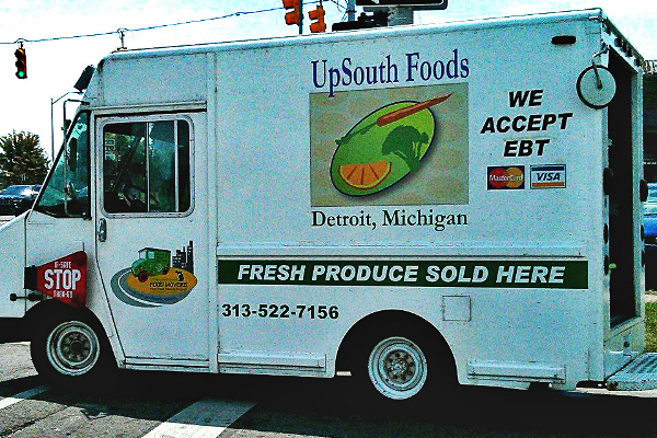 The UpSouth food truck
