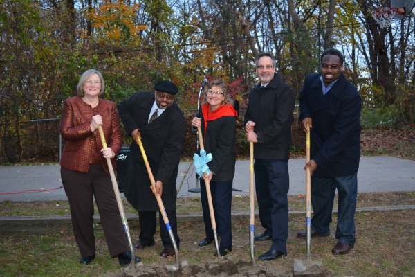 Wellspring Kumon groundbreaking