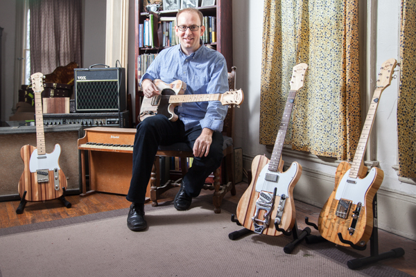 Mark Wallace, founder of Wallace Detroit Guitars