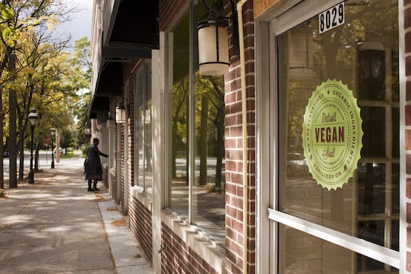 Detroit Vegan Soul on Agnes Street