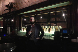 Michael Forsyth at Detroit City Distillery