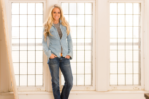 Nicole Curtis inside her latest Detroit House