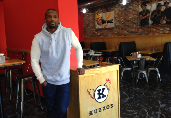 Ron Bartell, owner of Kuzzo's Chicken and Waffles