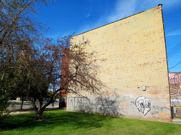 Remembering 39 color cubes 39 downtown detroit 39 s lost public for Enjoy detroit mural