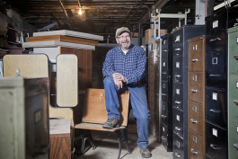 Jim Snyder, owner of Franklin Furniture