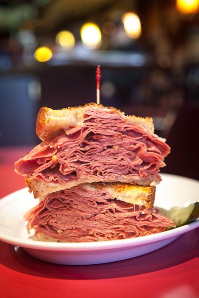 Vivio S Corned Beef Sandwich Featuring Grobbel S