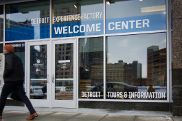 Detroit Experience Factory's new welcome center