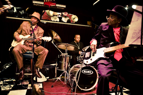 Detroit blues musicians