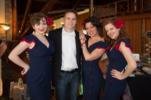 Pinup Models at Building Bridges to Small Business