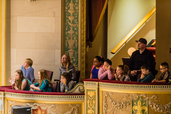 Students at a DSO Educational Concert Series