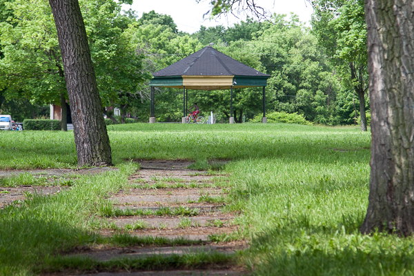 A pavilion in Poletown