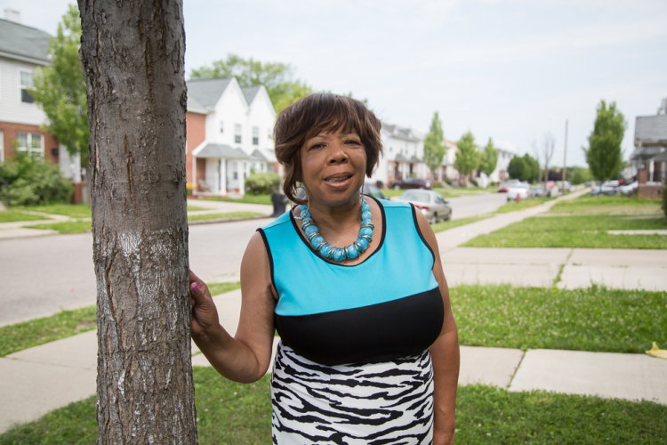 Linda Smith, director of U-SNAP-BAC, an organization developing affordable housing on Detroit's east side
