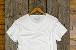 Lazlo's lifetime-guaranteed T-shirt
