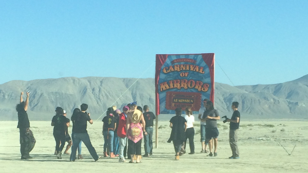 Entrance to Burning Man