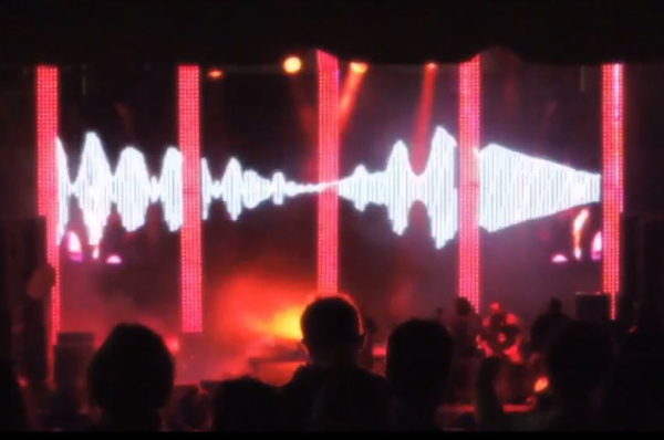 New D Media Arts' visuals at Movement Electronic Music Festival
