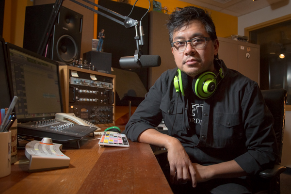 Alex Trajano, producer and host of WDET's Beginning of the End podcast