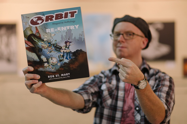 Rob St. Mary, author of The Orbit Magazine Anthology