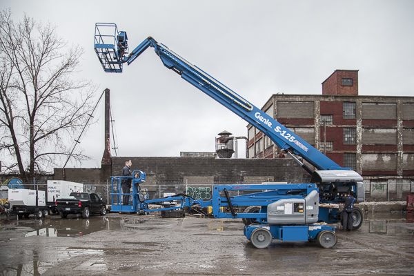Alta Equipment's rental yard