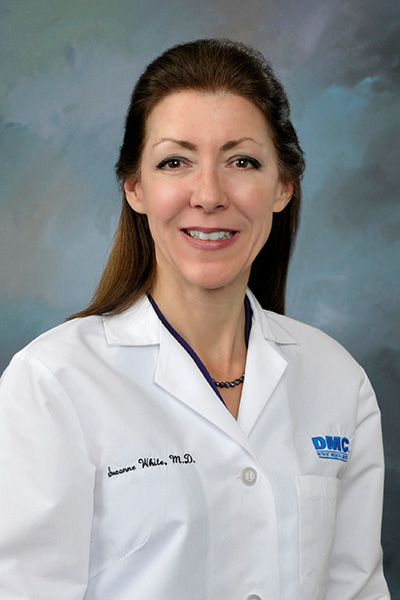 Dr. Suzanne White, chief medical officer at the DMC
