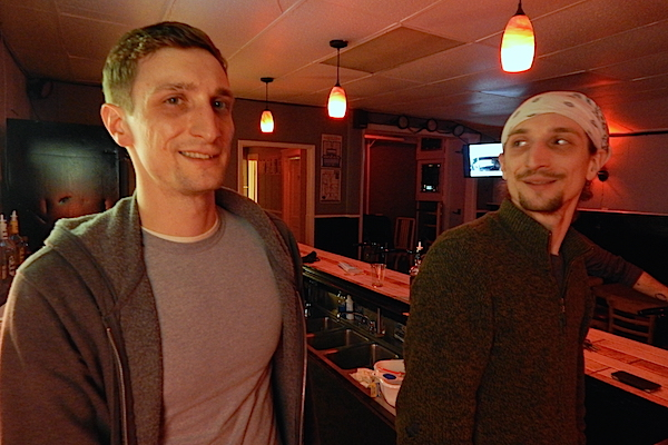 Ian (left) and Andrew Perotta at Trixie's