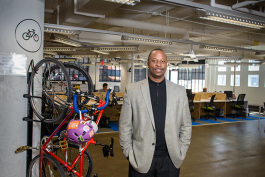 Paul Riser, director of technology-based entrepreneurship at TechTown