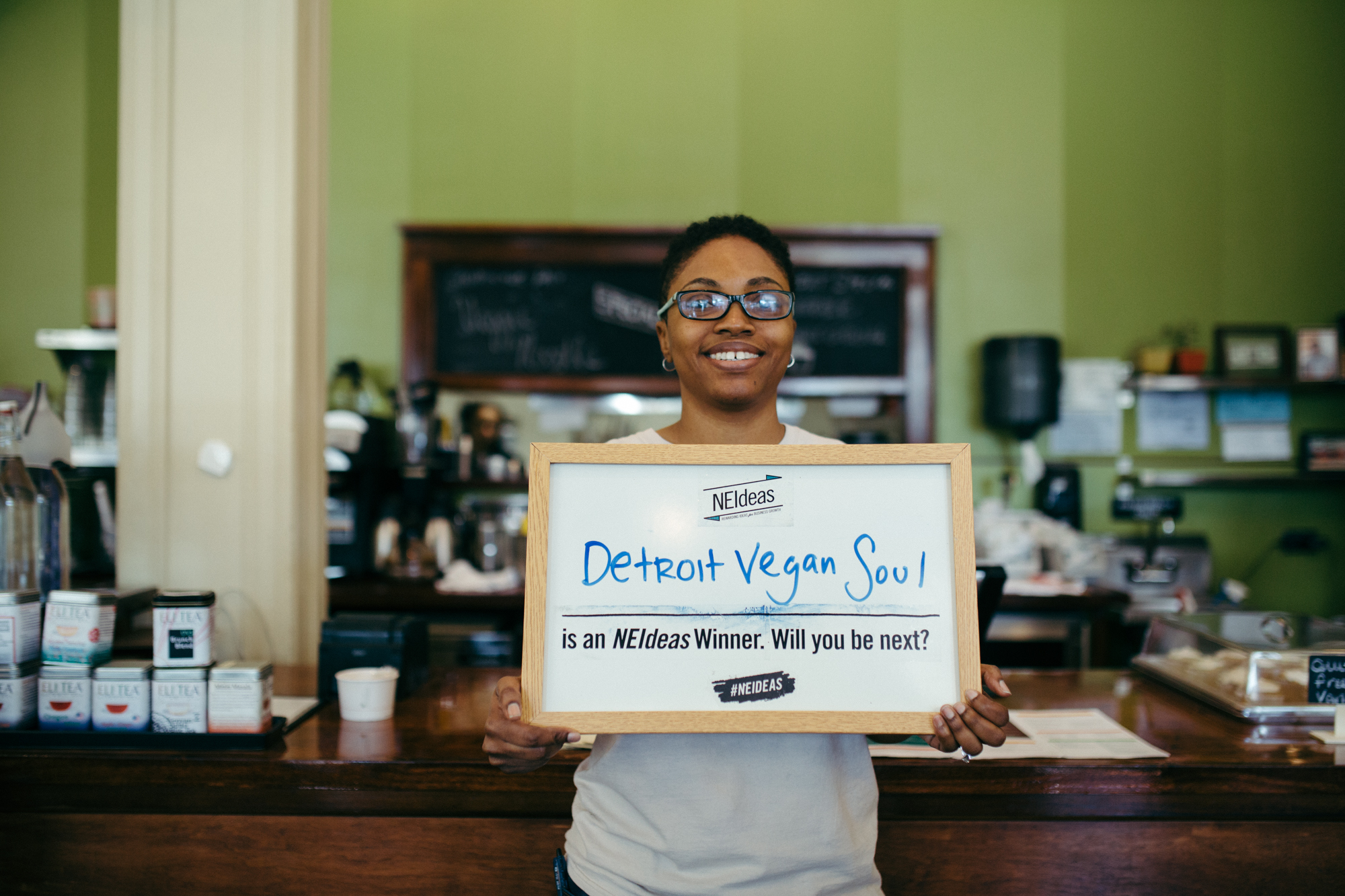Past winner Detroit Vegan Soul