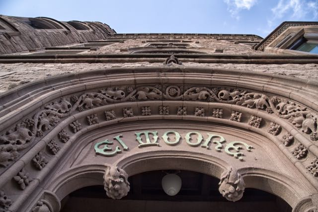 Beautiful El Moore facade