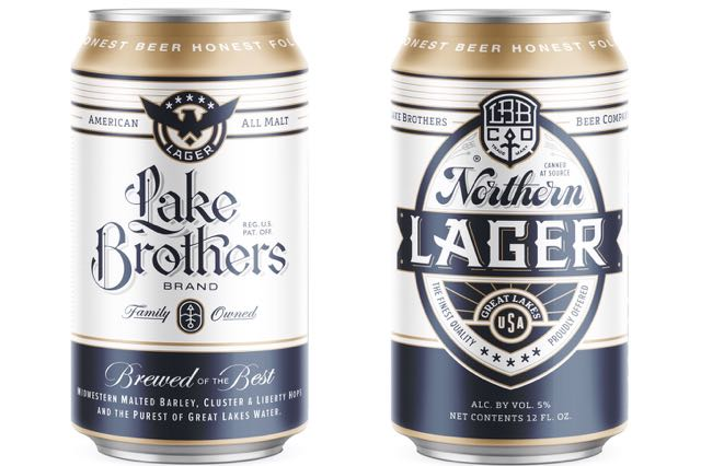 Lake Brothers Beer Co. lager