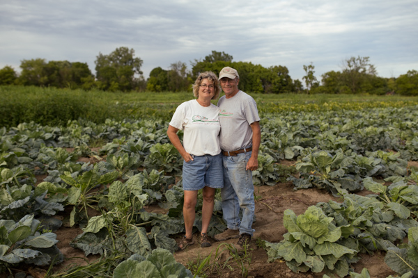 Tom and Vicki Zilke of Zilke Vegetable Farm