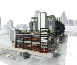 Rendering of the Russell Flats Apartments in Eastern Market