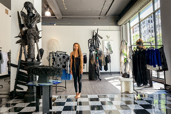 Roslyn Karamoko, owner of Detroit Is the New Black