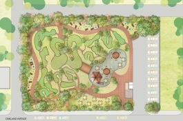 Plans for the North End's mini-golf course