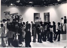 Archival photo of WGPR-TV62 programming