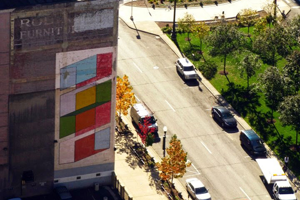 Color Cubes and Washington Blvd (2011)