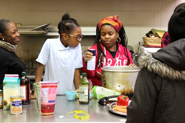 "Intergenerational culinary science is playing out through the ""A Taste of African Heritage"" coursework"