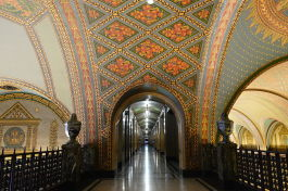 Interior of the Fisher Building