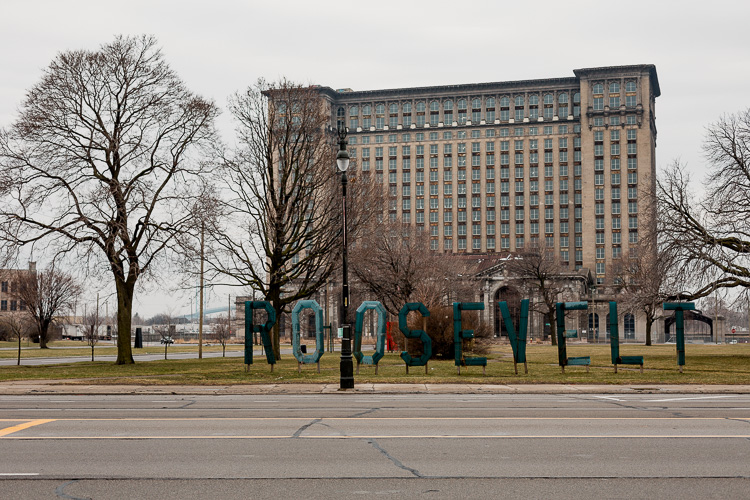 Roosevelt Park and Michigan Central Station