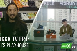 Screenshot of the first episode of StockX TV