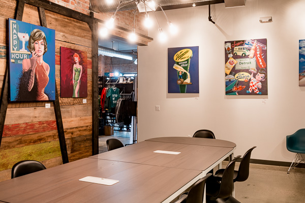 Conference room in Cass Collective