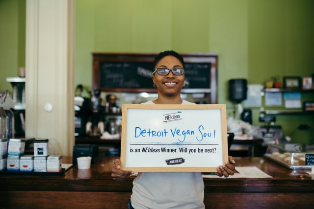 2015 NEIdeas winner Detroit Vegan Soul