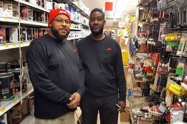 """The Rach"" Rachman (left) and Randall Gillette"