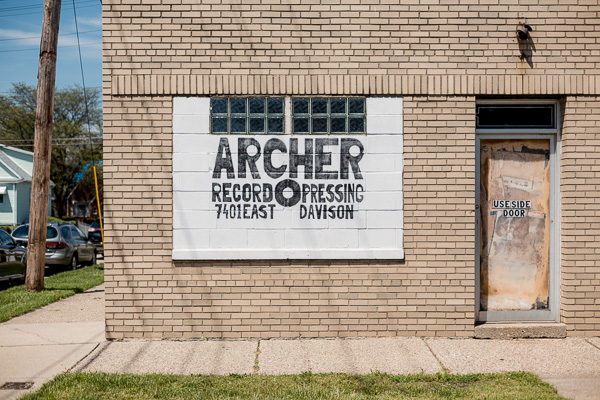 Exterior of Archer Record Pressing