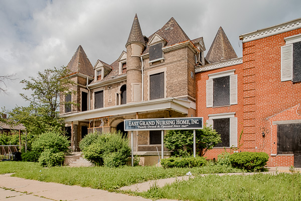An old nursing home acquired by The Platform in the neighborhood of Islandview